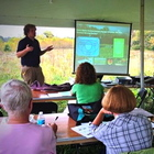 Brett Peters presents about ECI and threats to aquatic ecosystems as part of the Indiana DNR Master Naturalist Program.