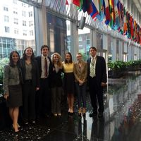 GLOBES Students Make Science Policy Presentations in Washington, D.C.