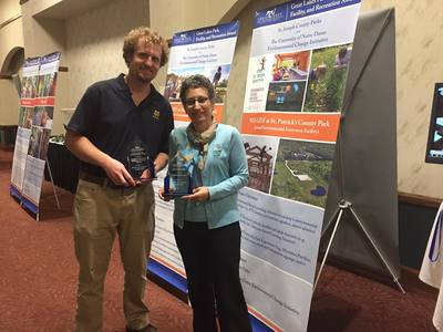 ND-LEEF & St. Joseph County Parks receive program award