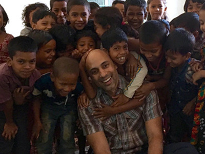 To the Frontline: Notre Dame Professors Build Collaborations in Bangladesh