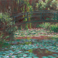 Modern Day Monet: Current environmental impacts embedded in early 20th century paintings