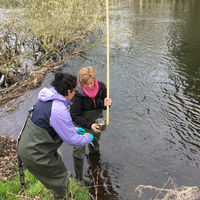 Environmental DNA to be used for monitoring endangered and invasive species in flowing waters